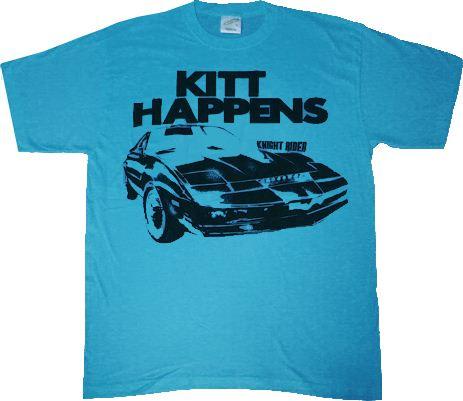 Car Knight Rider Licensed Adult Tank Top All Sizes KITT K.I.T.T