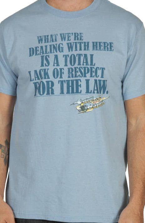 Smokey and the Bandit Respect Shirt