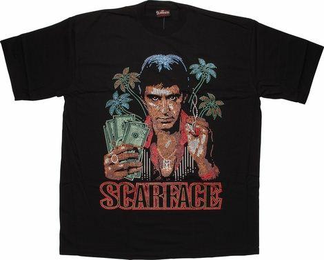 Scarface Sequins T-Shirt