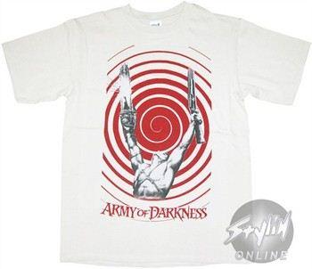 Army of Darkness Swirl T-Shirt