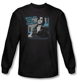 The Breakfast Club Long Sleeve T-shirt Movie Bad Black Tee Shirt