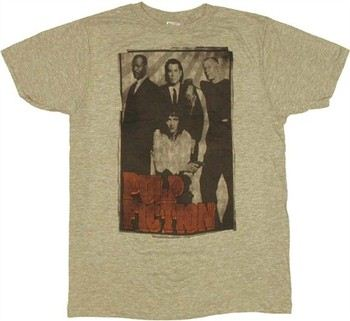 Pulp Fiction Group Shot T-Shirt Sheer