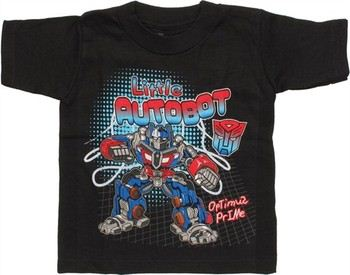Transformers Little Autobot Optimus Prime Toddler T-Shirt