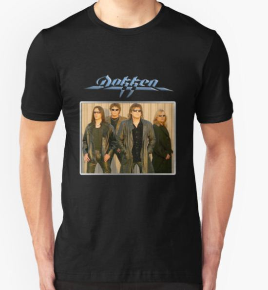 Dokken on Tour T-Shirt by Carter Mould T-Shirt