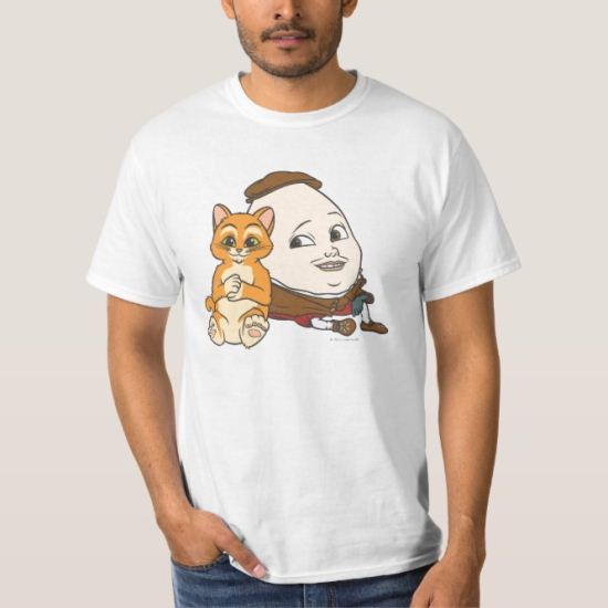 Young Puss & Humpty T-Shirt