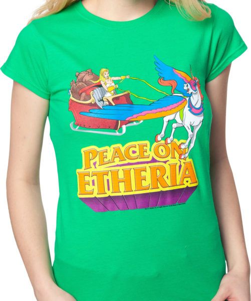 Ladies She-Ra Christmas Shirt