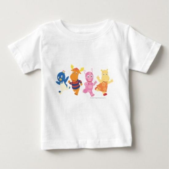 The Backyardigans | The Race Is On! Baby T-Shirt