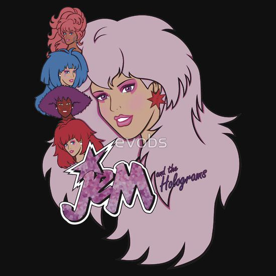 Jem and the Holograms by evobs T-Shirt