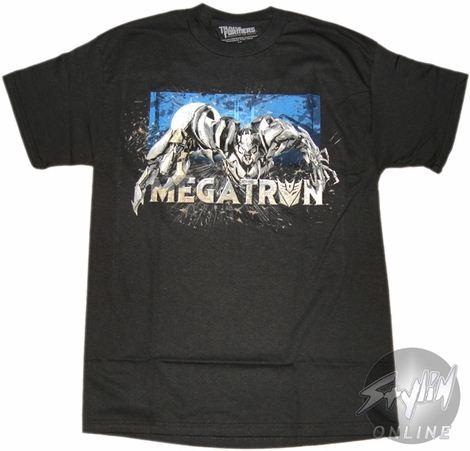 Transformers Megatron Poised T-Shirt