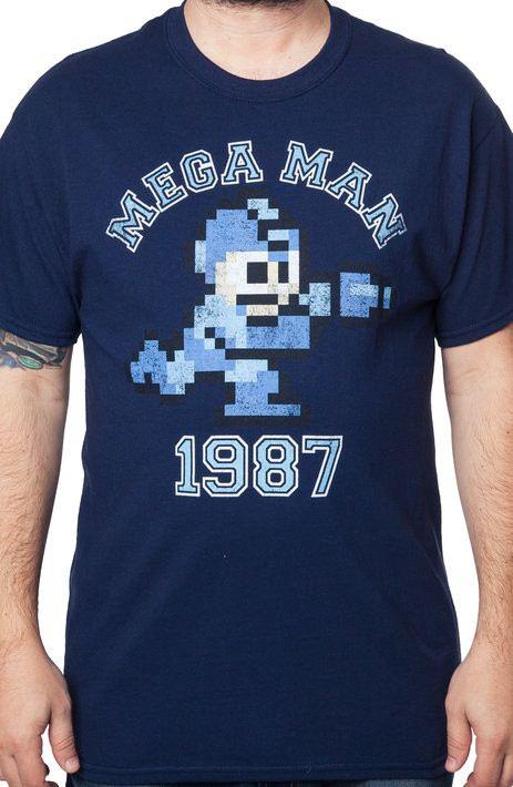 Mega Man 1987 Shirt