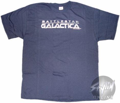 Battlestar Galactica Logo T-Shirt