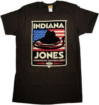 Indiana Jones American Adventurer 1935 T-Shirt Sheer