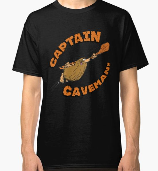 Captain Caveman Classic T-Shirt by Gregory Colvin T-Shirt