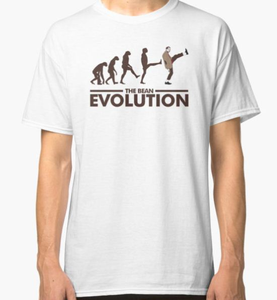 The Bean (Mr. Bean) Evolution Classic T-Shirt by Ryan Jay Cruz T-Shirt