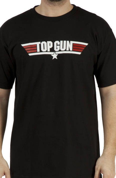 Black Top Gun T-Shirt