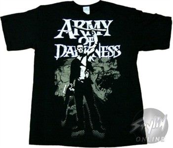 Army of Darkness Skulls T-Shirt