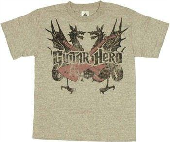 Guitar Hero Dragons Youth T-Shirt