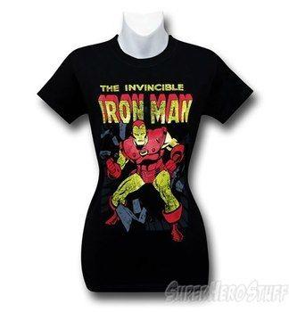 Iron Man Invincible Crash Women's T-Shirt
