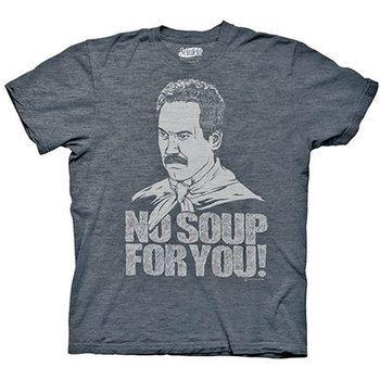 Seinfeld Soup Nazi No Soup For You Blue Graphic TShirt