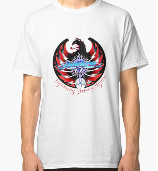 Dokken Lightning Strikes Again Classic T-Shirt by Carter Mould T-Shirt