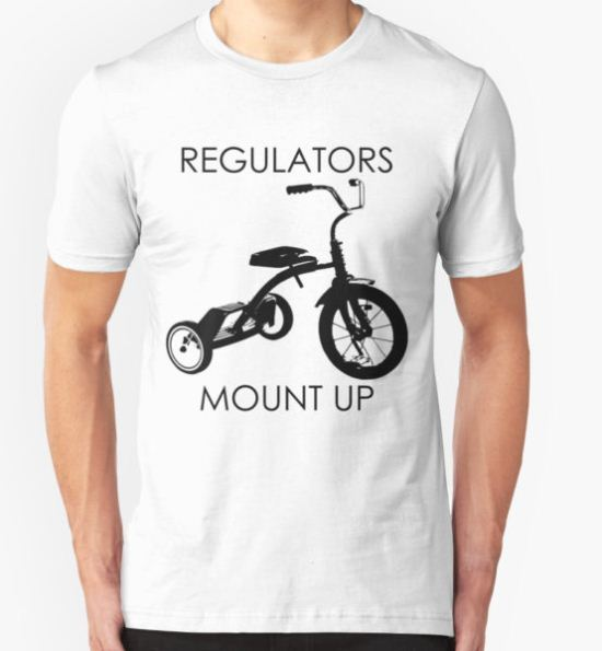 REGULATORS MOUNT UP  T-Shirt by devilshalollc T-Shirt