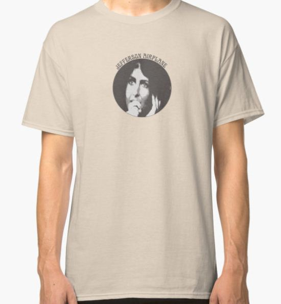 Jefferson Airplane (Grace Slick) Classic T-Shirt by thedrumstick T-Shirt