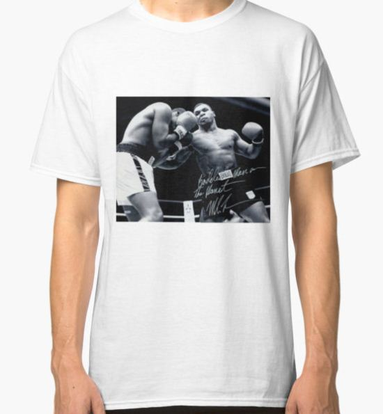Mike Tyson fight Classic T-Shirt by SlyMan T-Shirt