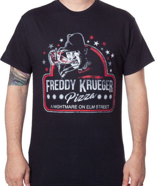 Freddy Krueger Pizza T-Shirt