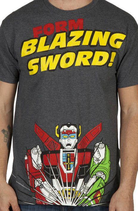 Blazing Sword Voltron Shirt