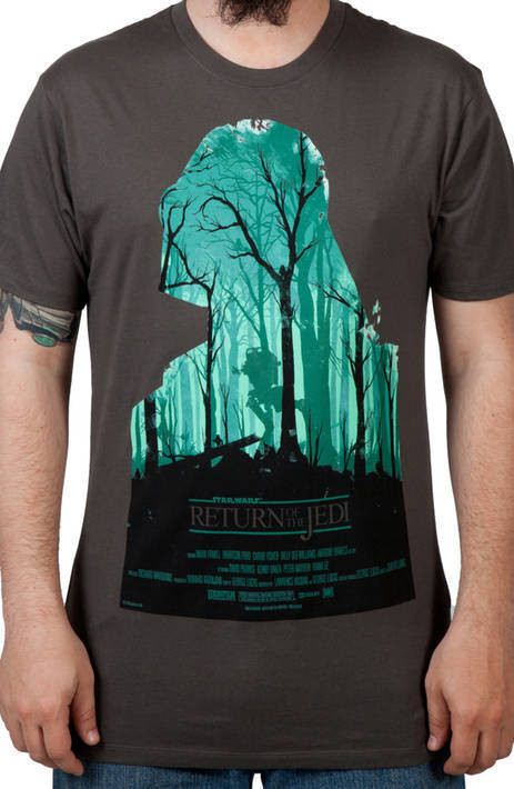 Return Of The Jedi Poster Shirt