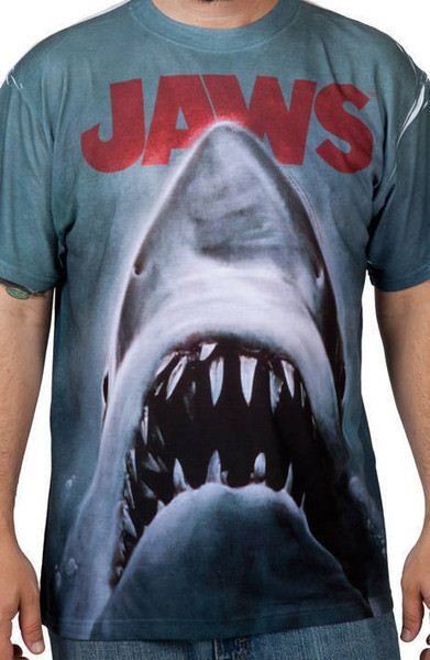 Sublimation Jaws Poster Shirt