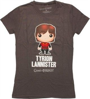 Game of Thrones Funko Pop Toy Tyrion Lannister Name Baby Doll Tee