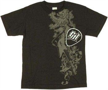 Guitar Hero Lion Pick Youth T-Shirt