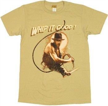Indiana Jones Whip It Good T-Shirt Sheer