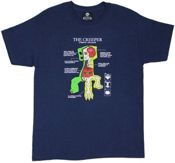 Creeper Anatomy - Minecraft T-shirt