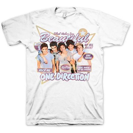 One Direction: One Direction Retro T-Shirt - Small