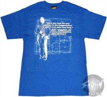 Seinfeld Art Vandalay Architect T-Shirt