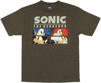 Sonic the Hedgehog Boxed Eyes T-Shirt