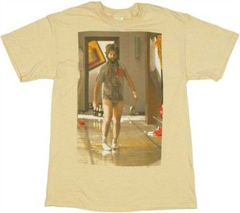 The Hangover Alan in Underwear Photo T-Shirt