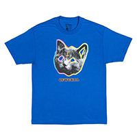 OFWGKTA TRON CAT TEE BLUE