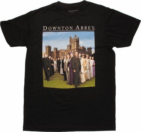 Downton Abbey Cast Photo T Shirt
