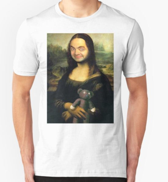 Mr Bean - Mona Lisa T-Shirt by Balzac T-Shirt