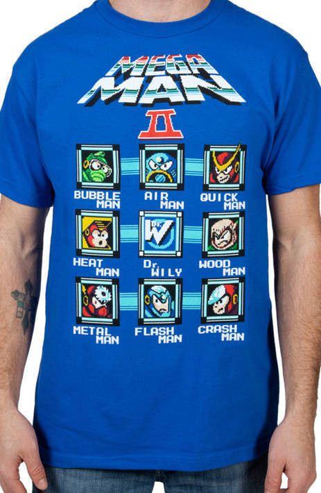 Characters Mega Man Shirt