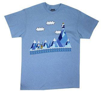 Ice World - Adventure Time T-shirt