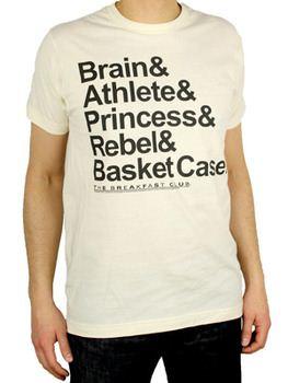 The Breakfast Club New Names T-Shirt