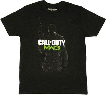 Activision Call of Duty Modern Warfare 3 Soldier T-Shirt Sheer