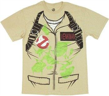 Ghostbusters Venkman Uniform Costume T-Shirt
