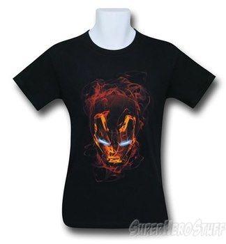 Iron Man Smokey Mask T-Shirt