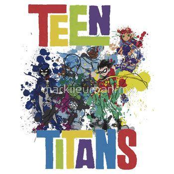 Teen Titans Splatter .