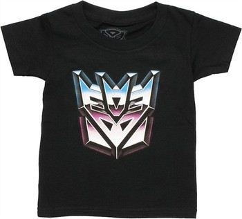 Transformers Decepticon Icon Logo Toddler T-Shirt